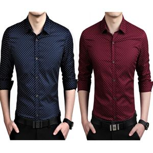 Mens Mehroon and Nevy Blue partywear/formal/casual shirts (Pack of 2)