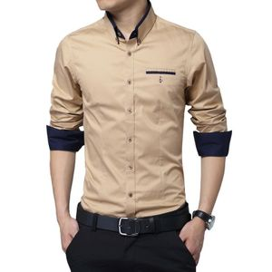 Coffee color cotton shirts for men