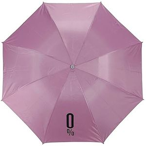 Tradeaiza® Automatic Foldable Travel Wine Bottle Umbrella(UV PROOF WINDPROOF)- Pink Umbrella