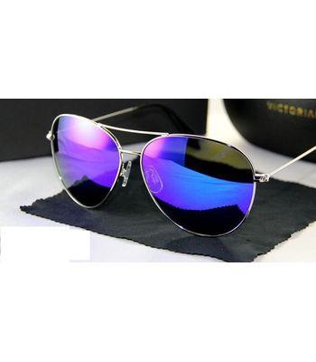 Sunglasses Aviator - Mercury BlueColor Fashion Goggles for Men  Women