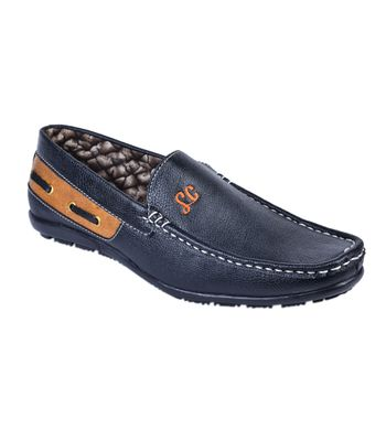 Messi Black Loafers