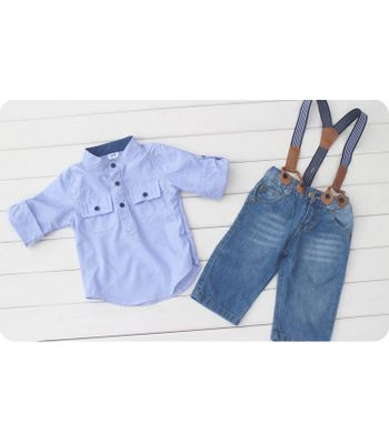 Baby Boy Bottom and Shirt Set