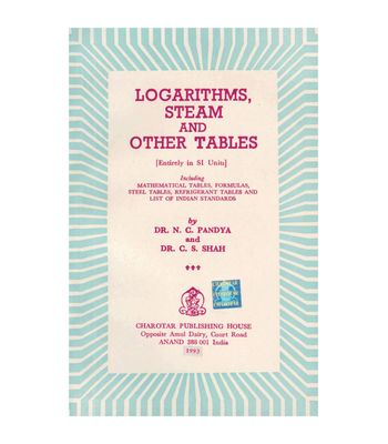 Logarithms Steam And Other Tables