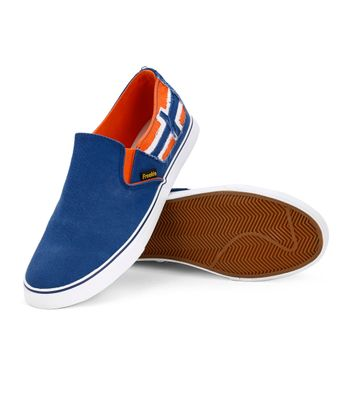 Froskie Vulcanised Canvas Casual ShoesFR-12-Blue