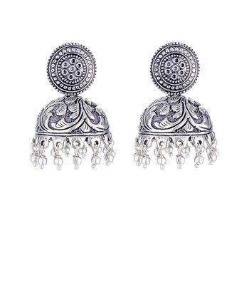 WATCH ME Banjara Boho pom Pom Trendy Fashionable Partywear Earrings Jhumki for Women Girls WMRPG-056