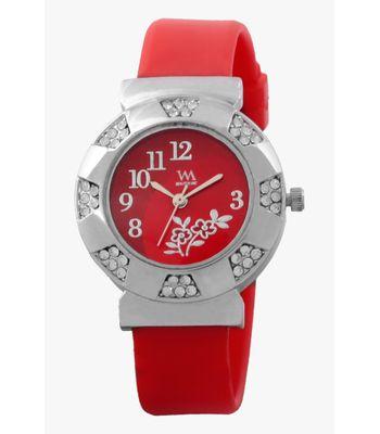 Watch Me Red Analog Wrist Watch for Women