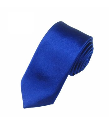 Mivera Blue Micro Fiber Skinny TieExcluNt2509