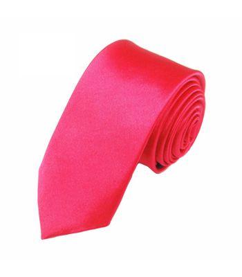 Mivera Pink Polyester Formal Skinny TiesNt2617