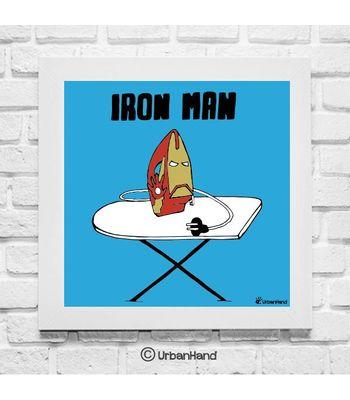 Iron Man Wall Art12 x 12