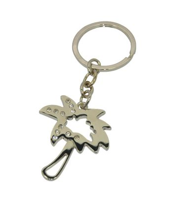 Daffodils Tree Key Chain Silver