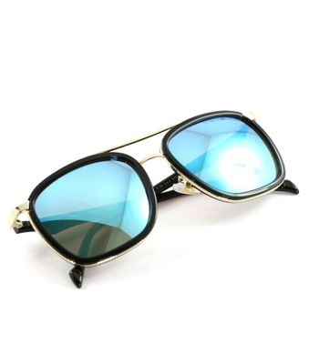sky blue stylish looking sunglasses for men