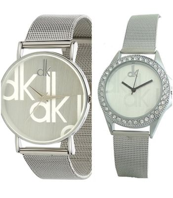 Silver Women And Men Combo