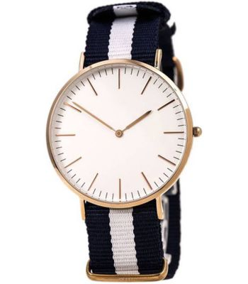 Adda Enterprise Canvas Sporty And Casual Analog Watch - For Men
