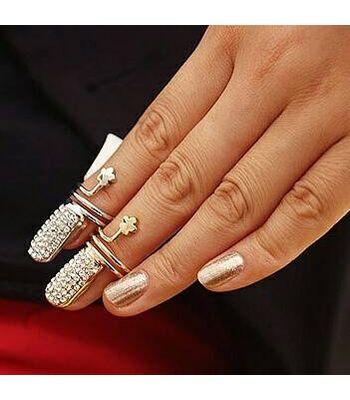 Nail Ring - Pair