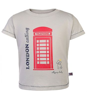 London Calling Print Tee