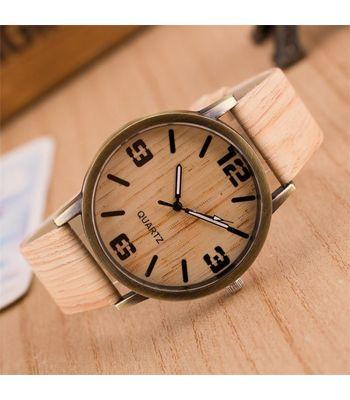 Angelfish wood grain watch luxury high-grade quartz watch-AELKCP037