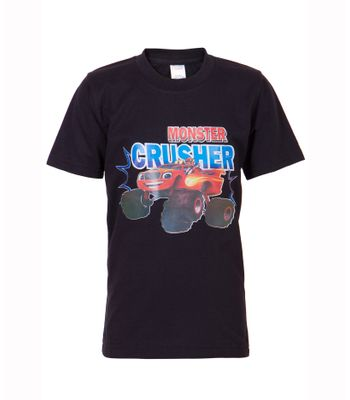 Ultrafit Junior Boys Cotton Black T-Shirt202