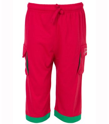 Ultrafit Junior Boys Red Cotton Capri244