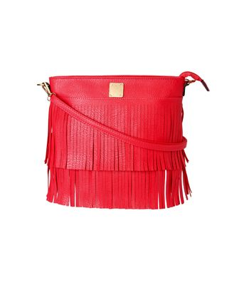 Kleio Designer Fringe Casual Sling Bag For Girls ESR200007KL-RE