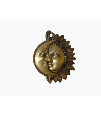 Craftofy Wall Hanging Showpiece With Sun and Moon