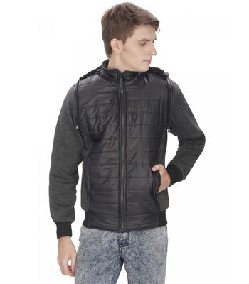 OPG Black Plain Casual Jacket