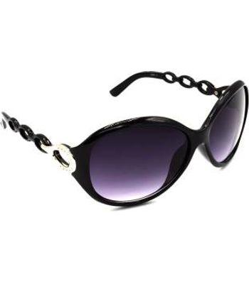 Rectangular Round Sunglasses  Grey