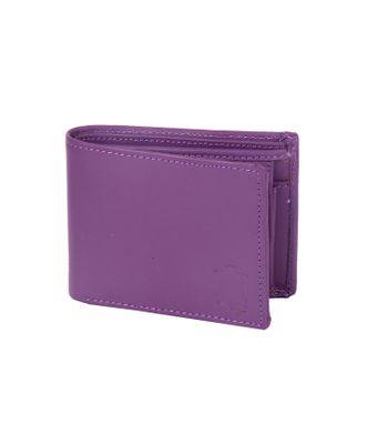 Leather Design Purple Leather Wallet For Men4