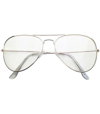 Buy Silver Frame Transparent aviator at Lowest Price ...