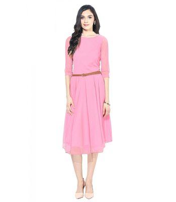 Exclusive Designer Pink Dress
