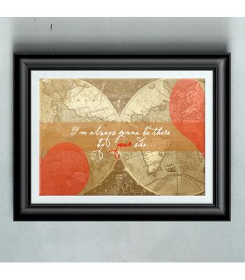 With You Poster Print