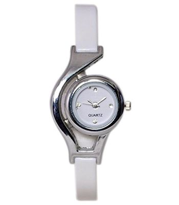 Gopal Retail Fancy White Glory Analog Watch -For Women