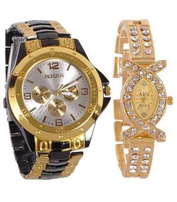 Rosra NR0257 Analog Watch - For Couple