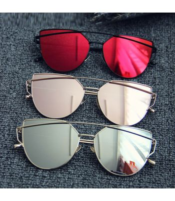 Combo Sunglasses RedPinkSilver Color For Men