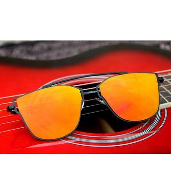 Orange and black stylish sunglass
