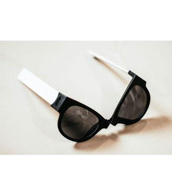 New stylish sunglass and hand bend
