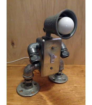 Robot USB Charging Lamp