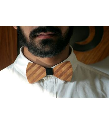 Woodiee - Wooden Bow Tie For Men