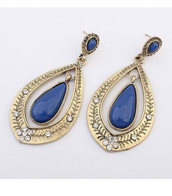Blue Drop Sialia Earrings