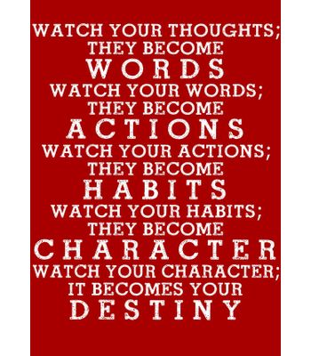Fantaboy Destiny Quote Wall Poster