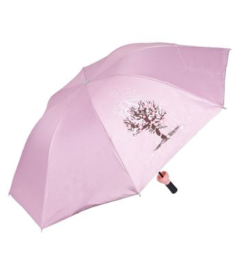 Sultaan Fashionable Wine Bottle Pink Cover Travel Umbrella