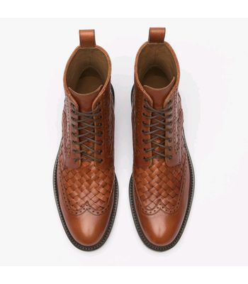 KNIG Mens Pure Leather Jack Boots