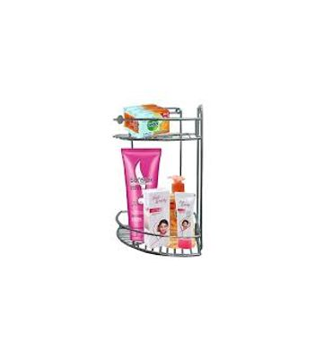 Airvyn Two Tier Stainless Steel Wire 12 Corner Rack
