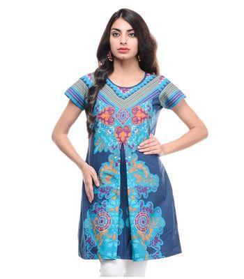 Sat Garments Printed kurtis RS-107 A