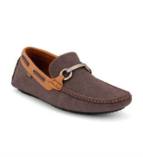 Froskie Casual Smart Party Wear CoffeeCamel Loafers Fr-008-coffeeCamel
