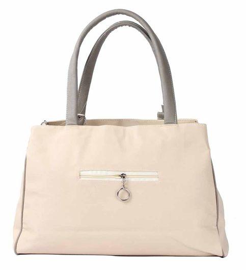 Bellina G series Cream Gray shoulder bag