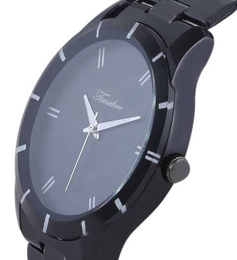 Timebre Men Black Casual Watch