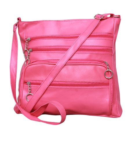 NotBad Pink Color Handbag Elegant Looks