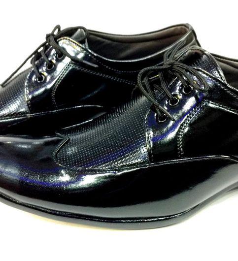 Hazat Black Patent Leather Formal shoes for men