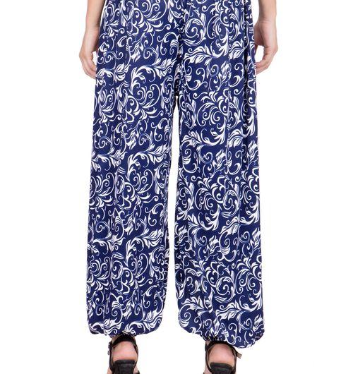 Adonia Womens Poly-Knit Lycra Printed Harem Pants  Combo of 2