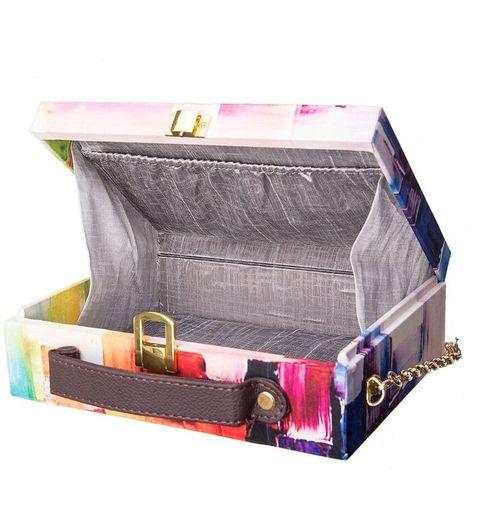 Hard Box Clutch Multicolour Checks